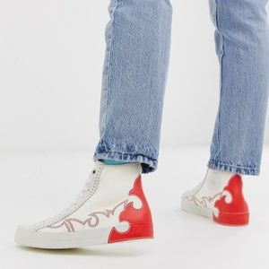 ♥️ Converse Sasha Topstitched High Top Sneaker